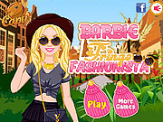 Barbie Fringe Fashionista game