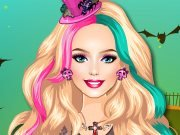 Barbie Halloween Night game