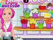 Barbie's Flower Shop game