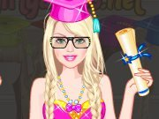 Barbie the Harvard University student game