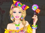Game Barbie the Candy Princess Dress Up