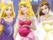 Pregnant Princesses Dressup game