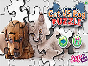 Game Cats Vs Dogs Puzzle