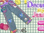 Decorate your jeans