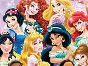 Disney Princesses New Year Resolutions game