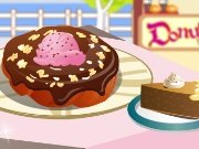 Decoration of a donut game