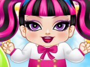 Cinderella and Draculaura Babies game