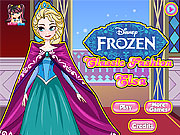 Disney Frozen Classic Fashion Elsa Dress Up Game game