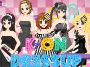 Game K-On Dress Up: outfit for the band