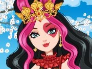Lizzie Hearts from Wonderland Dress Up game