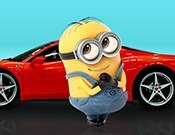 Minions car parking game