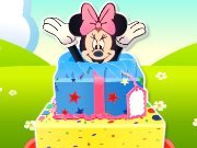Cooking of Minnie Mouse cake game
