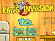 Game Rats invasion