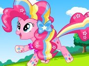 Dress up with Pinkie Pie game