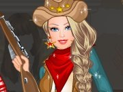 Barbie Princess sheriff game