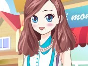 Summer Anime Dress Up game
