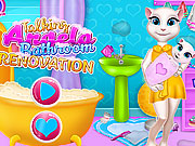 Talking Angela Bathroom Renovation game