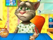 Talking Tom Arm Surgery game